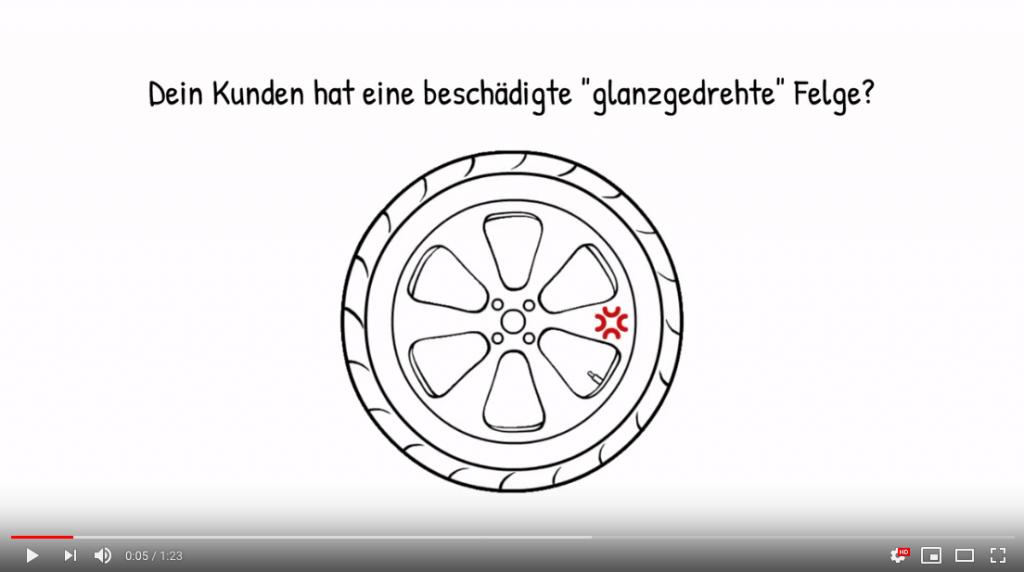 Neues Erklärvideo // Zusatzmodul BD-SALES Felge